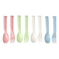 Bộ muỗng nĩa nhựa (4 cặp)