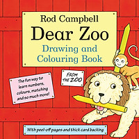 Sách tô màu The Dear Zoo Drawing And Colouring Book