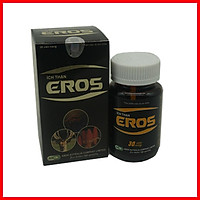 Tăng cường sinh lý nam, giảm đau lưng, tiểu đêm, bổ thận tráng dương dùng hàng ngày Viên uống ÍCH THẬN EROS chứa nhung hươu, đông trùng hạ thảo, nấm ngọc cẩu- Hộp 30 viên dùng  được 1 tháng