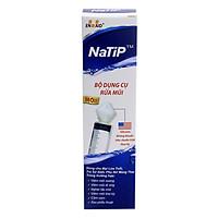 Bộ dụng cụ rửa mũi NaTip đầu silicone mềm, kháng khuẩn - đảm bảo an toàn tuyệt đối cho người sử dụng
