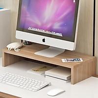 Kệ gỗ để màn hình máy tính,lap top cho bàn làm việc Clevermarthl