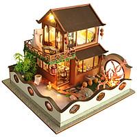 Nhà Mô Hình Lắp Ráp Handmade - Lầu Vọng Nguyệt - Mã TB19