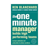 Sách - The One Minute Manager Builds High Performing Teams by Kenneth Blanchard - (UK Edition, paperback)