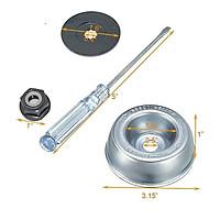 4pcs Gardening Machine Lawnmower Blade Adapter Attachment Maintenance Washer Kit For Stihl Fs120 130 130r 200 250 55