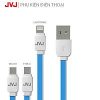 Cáp sạc nhanh JVJ SA-21 Lightning/Micro USB/Type-C cho các dòng máy iPhone, Android