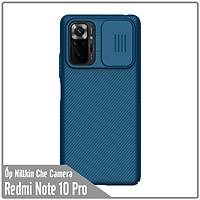 Ốp lưng cho Xiaomi Redmi Note 10 Pro Nillkin CamShield che camera -  Hàng nhập khẩu