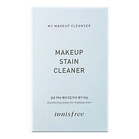 Sản Phẩm Làm Sạch Lớp Trang Điểm Innisfree My Makeup Cleanser Makeup Stain Cleaner (30 Miếng) + Tặng 1 Nước Tẩy Trang My Makeup Cleanser Micellar Oil Water (15ml)