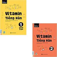 Combo Vitamin Tiếng Hàn (Tập 1 + Tập 2)(Tặng kèm bút chì Kingbooks)
