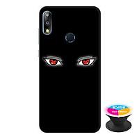 Ốp lưng điện thoại Asus Zenfone Max Pro M2 hình Đôi Mắt tặng kèm giá đỡ điện thoại iCase xinh xắn - Hàng chính hãng