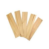 Bó 5 thanh gỗ thông đẹp dài 40cm, rộng 9cm, dày 1.2cm dùng làm kệ, ốp tường, trang trí, decorde