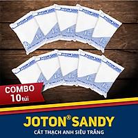 Combo 10 túi cát thạch anh Joton Sandy cho bể cá và bể lọc