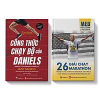 Sách - Combo Marathon - Công Thức Chạy Bộ Của Daniels - 26 Giải Chạy Marathon - Pandabooks