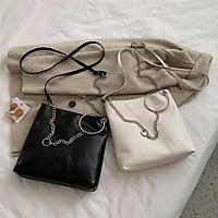 Túi da quai xích đeo được 2 kiểu giá cực sốc S089 (các b lưu ý kích thước nhé)