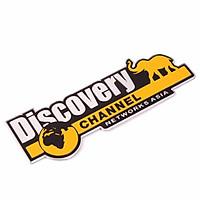 Combo 2 tem Discovery dán trang trí ô tô