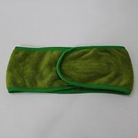Combo 5 Băng Đô Quấn Tóc Spa Microfiber  Nam Phong - Màu Xanh Rêu