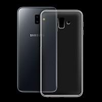 Ốp lưng cho Samsung Galaxy J6 plus - 01050 - Ốp dẻo trong - Hàng Chính Hãng