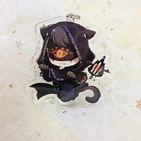 Móc khóa Identity V Nhân cách thứ năm ver Halloween in hình anime chibi( Mica trong acrylic)