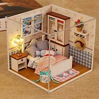 Mô hình nhà gỗ búp bê DIY - Warm Whispers M002 ( Tặng Mica + Keo )