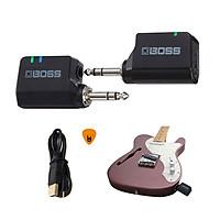 Boss WL-20 Bộ Thu Phát Tín Hiệu Không Dây Wireless System (Pin sạc, Dùng cho Đàn Guitar và mọi loại Nhạc Cụ khác WL20) Hàng Chính Hãng - Kèm Móng Gẩy DreamMaker