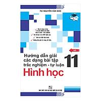 Hướng Dẫn Giải Các Dạng Bài Tập Trắc Nghiệm - Tự Luận Hình Học 11