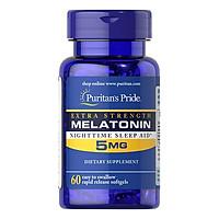 Thực Phẩm Chức Năng - Viên Uống Hỗ Trợ Giấc Ngủ Tự Nhiên, Ngủ Ngon Extra Strength Melatonin 5Mg (60 Viên)