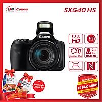 Máy ảnh Canon POWERSHOT SX540HS - Hàng Chính Hãng Lê Bảo Minh + KM 2 hộp thịt Nhập Khẩu Chopped Ham 325gram