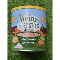 Bột ăn dặm gạo và rau củ xay nhuyễn heinz (200gr)