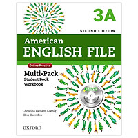 American English File 3A Multi-Pack with Online Practice and iChecker