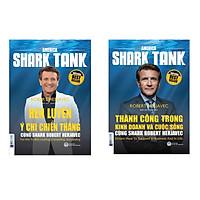 Combo sách Thành Công Trong Kinh Doanh Và Cuộc Sống, Rèn Luyện Ý Chí Chiến Thắng Cùng Shark Robert Herjavec và