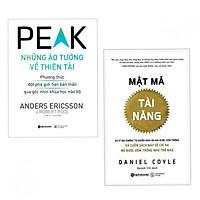 Combo sách tư duy kiến thức hay: Mật Mã Tài Năng + Những Ảo Tưởng Về Thiên Tài (tặng kèm bookmark thiết kế)