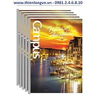 Lốc 5 quyển vở kẻ ngang Adventure 80 trang B5 Campus NB-BAVT80 màu vàng