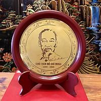 Đĩa đồng để bàn, Chủ tịch Hồ Chí Minh - 1969