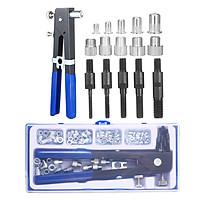 86PCS Rivet Nut Tool Kit Set Blind Rivet Nut Hand Riveter Wrench Threaded Insert Tool Rivet Nut Gun with Metric Rivet