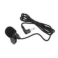 Mini Portable Clip-on Lapel Lavalier Hands-free 3.5mm Jack Condenser Microphone Mic for Computer PC Laptop Loundspeaker