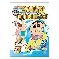 Shin Cậu Bé Bút Chì - Phiên Bản Hoạt Hình Màu: Vận Động Viên Lướt Sóng Shinnosuke Tập 33 (Tái Bản)