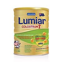 Sữa bột Lumiar Colostrum 1+ 800g - Dinh dưỡng cho đề kháng khỏe mạnh, kháng thể IgG từ sữa non & 2′-FL HMO giúp tăng cường miễn dịch.