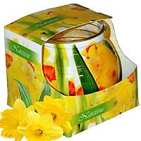 Ly nến thơm tinh dầu Admit Narcissus 85g QT01882 - thủy tiên vàng