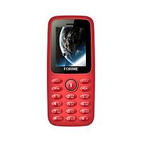 Điện thoại Forme A7, màn hình 1.8inch, 2 sim 2 sóng, thẻ nhớ ngoài, loa nhạc lớn, FM không dây, pin 950mAh - Hàng chính hãng