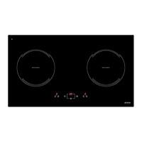 Bếp Âm Từ Đôi Elica H3 – EIH7520BL (70cm - 3700W) - Hàng Chính Hãng