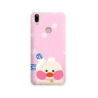 Ốp lưng dẻo cho điện thoại Vivo V9 - Y85 - 01113 7868 DUCK02 - In hình Vịt con đáng yêu - Hàng Chính Hãng