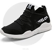 Giày Sneakers Nữ Hàng Mới Hot Hit N022 đen