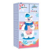 Tủ nhựa Duy Tân MINA ( Họa tiết ngẫu nhiên ) - GIAO HÀNG & LẮP RÁP TẬN NƠI TP.HCM