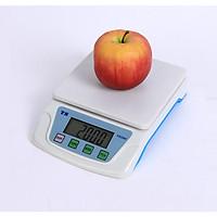 Cân điện tử 1kg/0.1g ( Tặng miếng thép đa năng 11in1 )