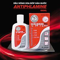 Bộ 15 Chai Dầu nóng Hàn Quốc Antiphlamine - Massage Cơ Bắp Cơ Thể Toàn Thân Giảm Đau Nhứt ( Chai100ml ) - 15 Chai