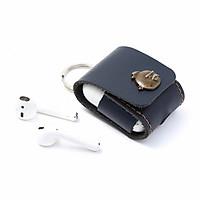 Bao da handmade đựng tai nghe Airpods Merju cao cấp MA02 -  Hàng chính hãng