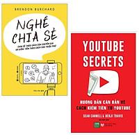 Combo 2 cuốn kinh doanh:  Nghề Chia Sẻ - Chia Sẻ Theo Cách Của Chuyên Gia Và Kiếm Tiền Theo Cách Của Triệu Phú + Youtube Secrets - Hướng Dẫn Căn Bản Cách Kiếm Tiền Từ Youtube