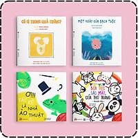 Set 4 cuốn Ehon Màu Sắc - Cho bé 0-6 tuổi thông minh, sáng tạo
