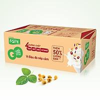 Thùng Sữa đậu nành FamiGo đậu đỏ nếp cẩm (200ml x 40 Bịch)