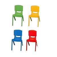 Combo 4 ghế nhựa mầm non cao 28cm