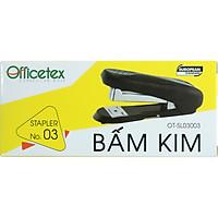 Bấm Kim OFFICETEX Số 3 OT-SL03003 (12.5 x 5.5 x 4 cm) - Giao Màu Ngẫu Nhiên